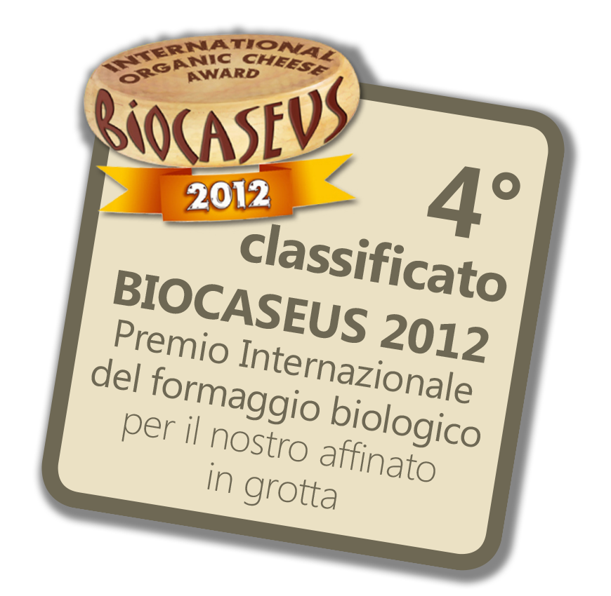 Quarto classificato Biocaseus 2012